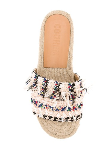 Coohem Summer Tweed Sandals Nude And Neutrals 7APAJ5E