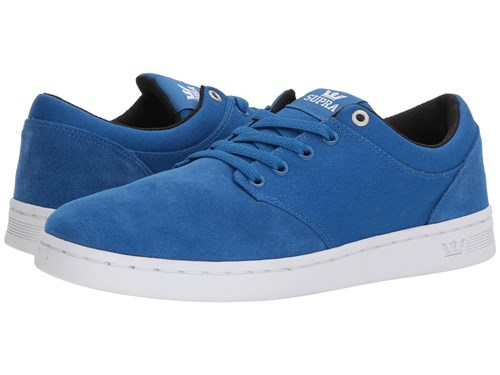 Supra Chino Court Ocean White Skate Shoes Blue miNgg7TB