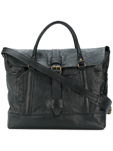 Tote Buckled Officine Officine Creative Buckled Tote Black Black Creative Officine fqwOdxP87