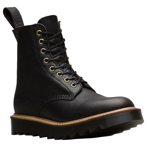 Dr. Martens Dr Pascal 8 Eye Lace Up Boots Black HwF9Byuyj