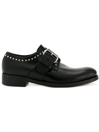 DSquared Dsquared2 Studded Monk Shoes Black 7f4B74WryV