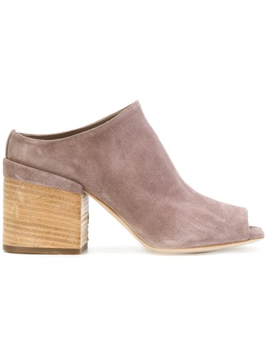 Officine Creative Open Toe Mules Grey uPviR