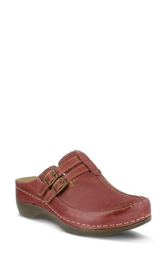 Spring Step Happy Clog Bordeaux Leather 39Pnsi