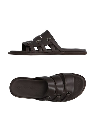 Vicini Sandals Dark Brown ix6mm