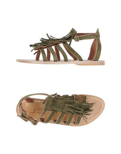 K.JACQUES ST. TROPEZ Sandals Military Green hIHuyXvUd