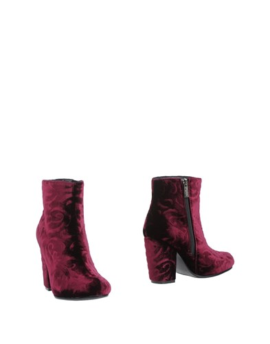 Colors of California Ankle Boots Maroon g38SqF