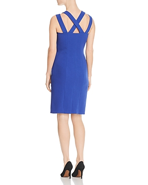 Boss Daphima Crisscross Strap Dress 100 Exclusive Sailor Blue R5RAyU6vO