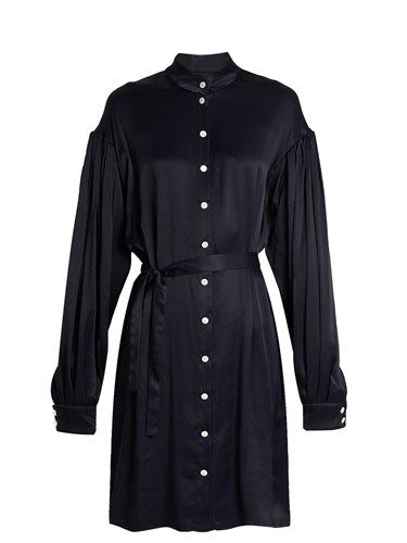 Navy Osman Dress Shirt Tiana Seersucker wWrqrvxIz8
