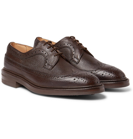 Tricker's Fulton Full Grain Leather Wingtip Brogues Brown O1xt0n2