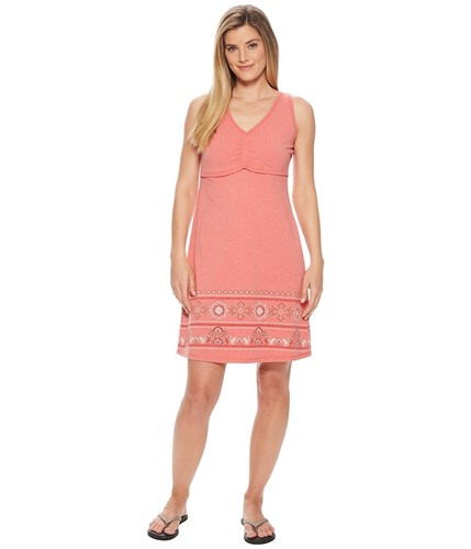 Aventura Clothing Amberley Dress Deep Sea Coral Red q9eedF5