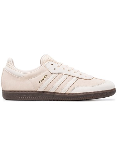 adidas Nude Samba Suede Sneakers Nude And Neutrals AKN7tuGr