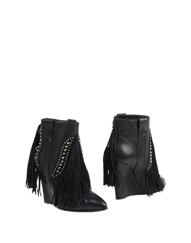 GARRICE Ankle Boots Black 0UxCcm