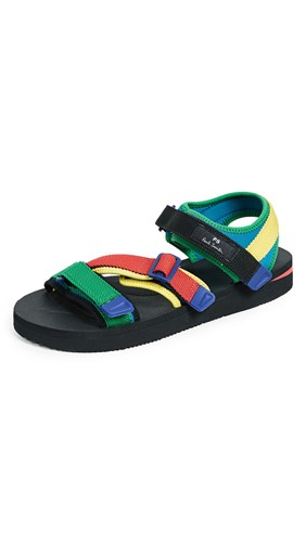 Paul Smith Ps By Formosa Sandals Black Multi o7iFZUGRC