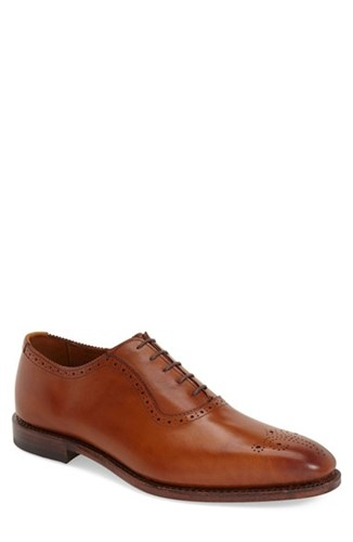 Allen Edmonds Men's 'Cornwallis' Medallion Toe Oxford Walnut V3Z51