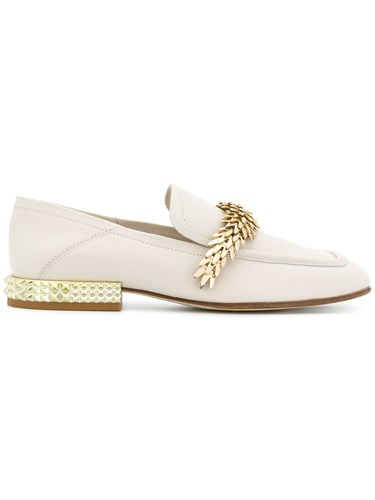Ash Edgy Loafers Nude And Neutrals dDr67G
