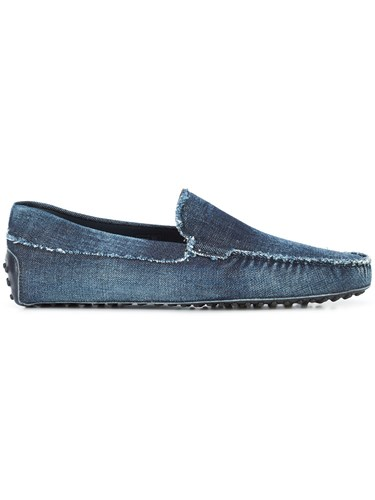 Tod's City Gommino Driving Shoes Blue Uq0QIMgA