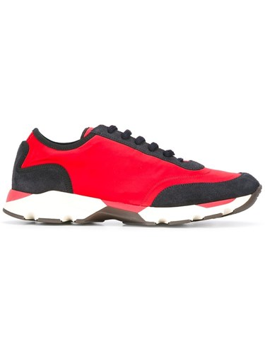 Red Low Colour Sneakers Top Marni Block EXwCEq