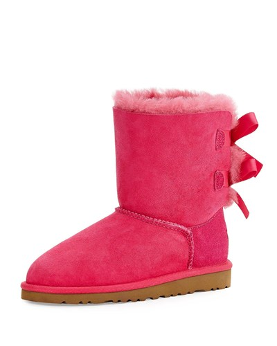 UGG Bailey Boot With Bow Youth Cerise 27ymiohyLc