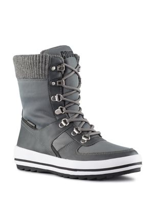 Cougar Vergio Lace Up Boots Grey TiER0Y5z