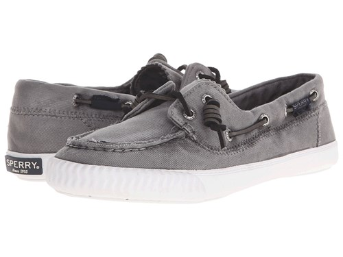 Sperry Sayel Away Washed Grey Women's Moccasin Shoes Gray RjZcfc