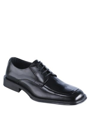 Kenneth Cole Reaction Simplicity Leather Dress Oxfords Black rMgHLuXhF