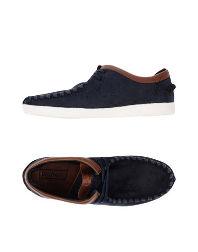 Boxfresh Footwear Lace Up Shoes Dark Blue 1dowiXqreF
