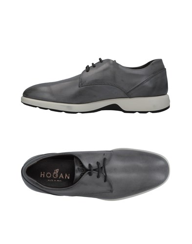 Hogan Lace Up Shoes Lead fDtOGAMK
