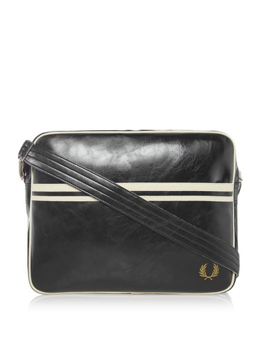 Fred Perry Classic Shoulder Bag Black WuaROw