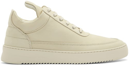 Filling Pieces Beige Low Ripple Sneakers OWqpjDdA