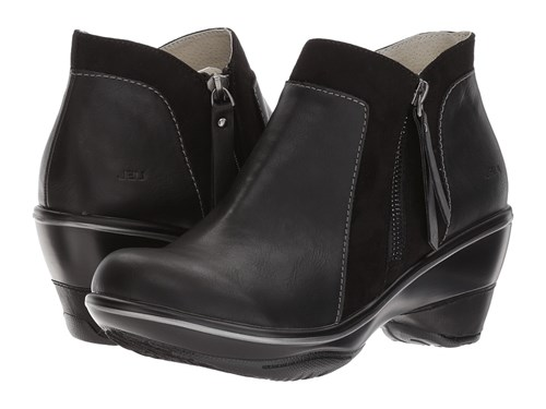JBU Pilot Black Women's Wedge Shoes Ak8qFUam