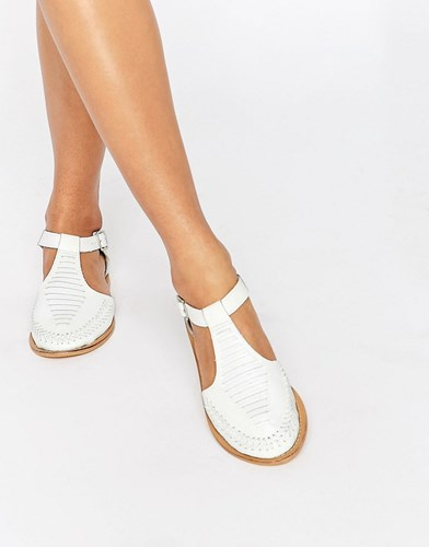 Jabel Leather Geek Shoes White