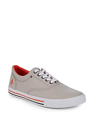 Penguin Original Sneakers Low Orange Grey Lt Top Buckley Canvas HdwqfXrd