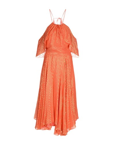 Daizy Shely Long Dresses Coral 6HxNuM3n
