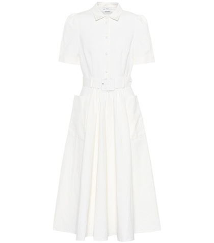 Cotton And Linen White Dress Co nXAExw6SS