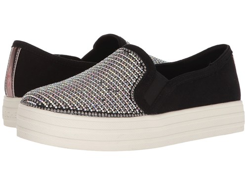 Skechers Double Up Shimmer Shaker Black Shoes gSb73isZZ