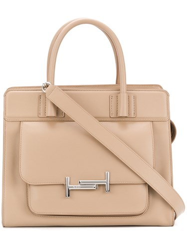 Tod's Double T Tote Nude And Neutrals pjz4DBUVm