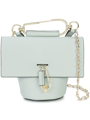 Zac Posen Belay Chain Crossbody Bag Grey S4DKPg9