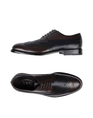 Tod's Lace Up Shoes Dark Brown AwynwEw