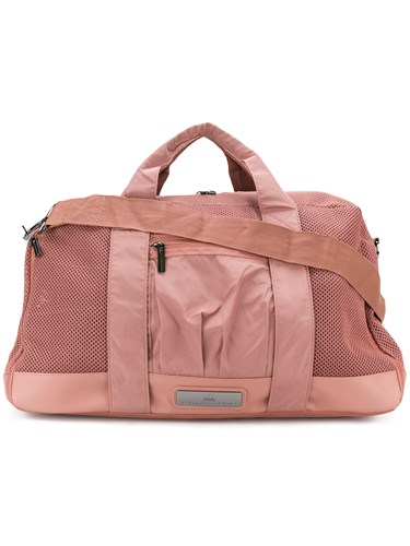 adidas by Stella McCartney Mesh Panel Holdall Pink And Purple asRtUn