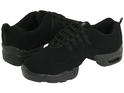 Bloch Canvas Boost Black Lace Up Casual Shoes 8TPCr2VXgu