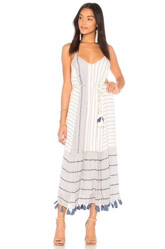 Saylor Frida Dress White Fmzcj