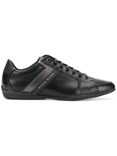 Hugo Boss Lace Up Sneakers Black lMS9wuH