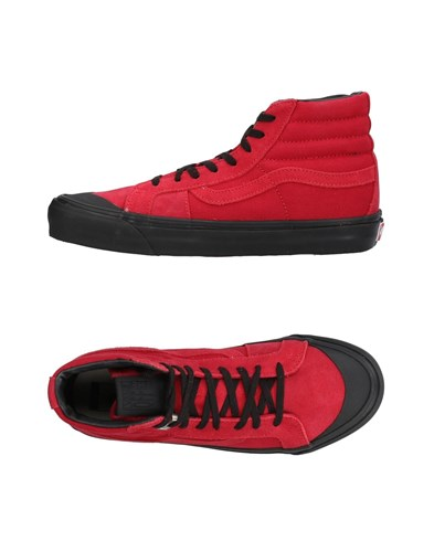 Vans Sneakers Red sCdjIC