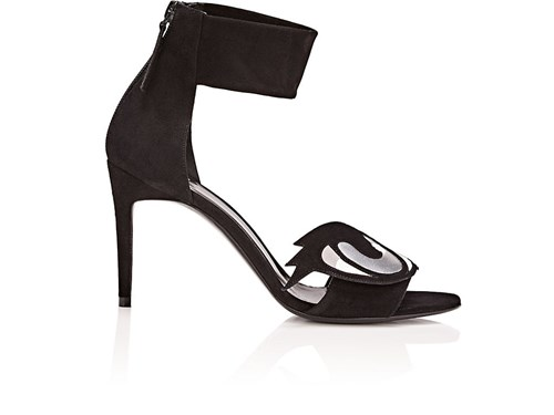 Pierre Hardy Oh Roy Suede Sandals Black S7qM6