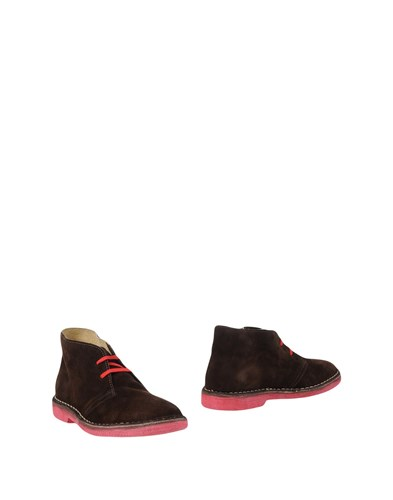 WALLY WALKER Ankle Boots Dark Brown mo1ao