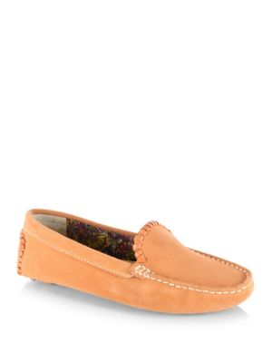 Jack Rogers Taylor Suede Drivers Dove Grey Acorn Orange J4QJF8vY