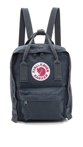 Fjäll Räven Fjallraven Kanken Mini Backpack Graphite 26JcmFa