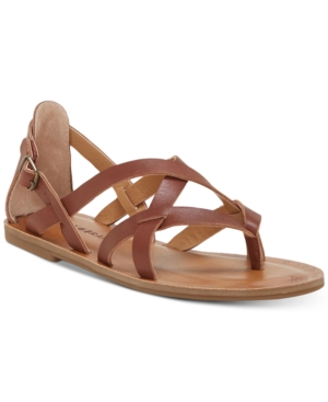 Lucky Brand Ainsley Flat Sandals Women's Shoes Rye Ec9pJ4sj1r