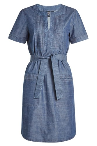A.P.C. Denim Dress With Belt DzhbP0bMIb
