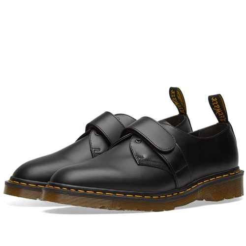 Dr. Martens X Engineered Garments Velcro Strap Shoe Black GiVqsX7PI